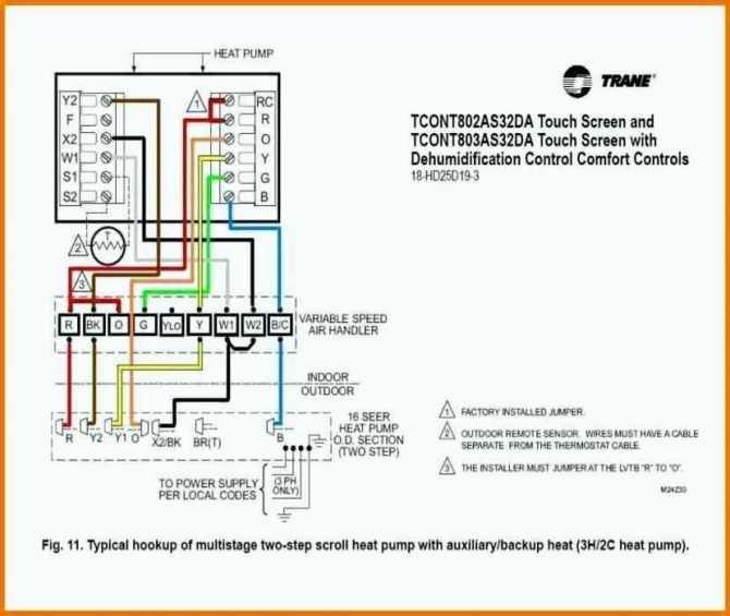 goodman heat pump air handler wiring diagram no aux mustang