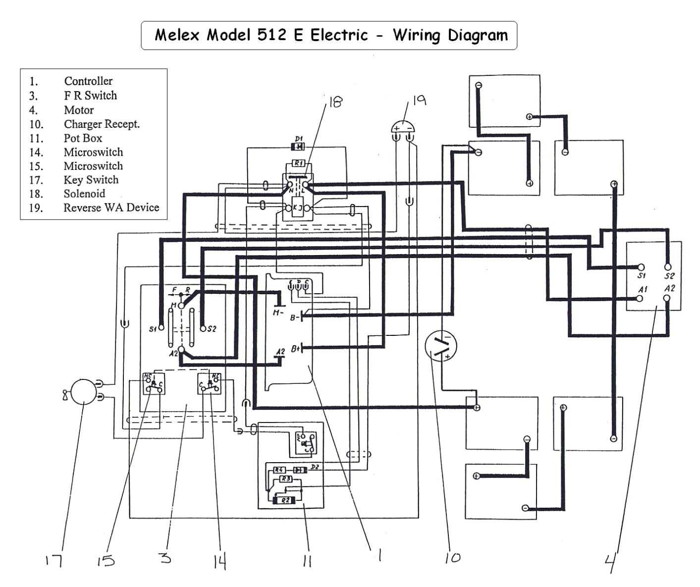 Yamaha G29 Gas Golf Cart Wiring Diagram