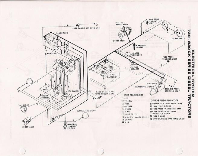 [ZH_4174] 1070 Case Wiring Diagram Schematic Wiring