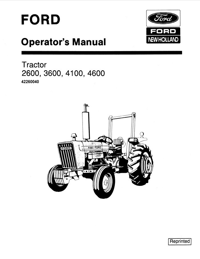Ford 2600 Tractor Wiring Diagram / 5000 Ford Electrical