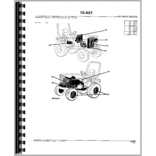 [YL_4006] John Deere 310 Backhoe Parts Diagram John Deere