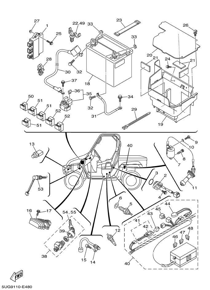 Yamaha Grizzly 660 Wiring Diagram / Download Yamaha