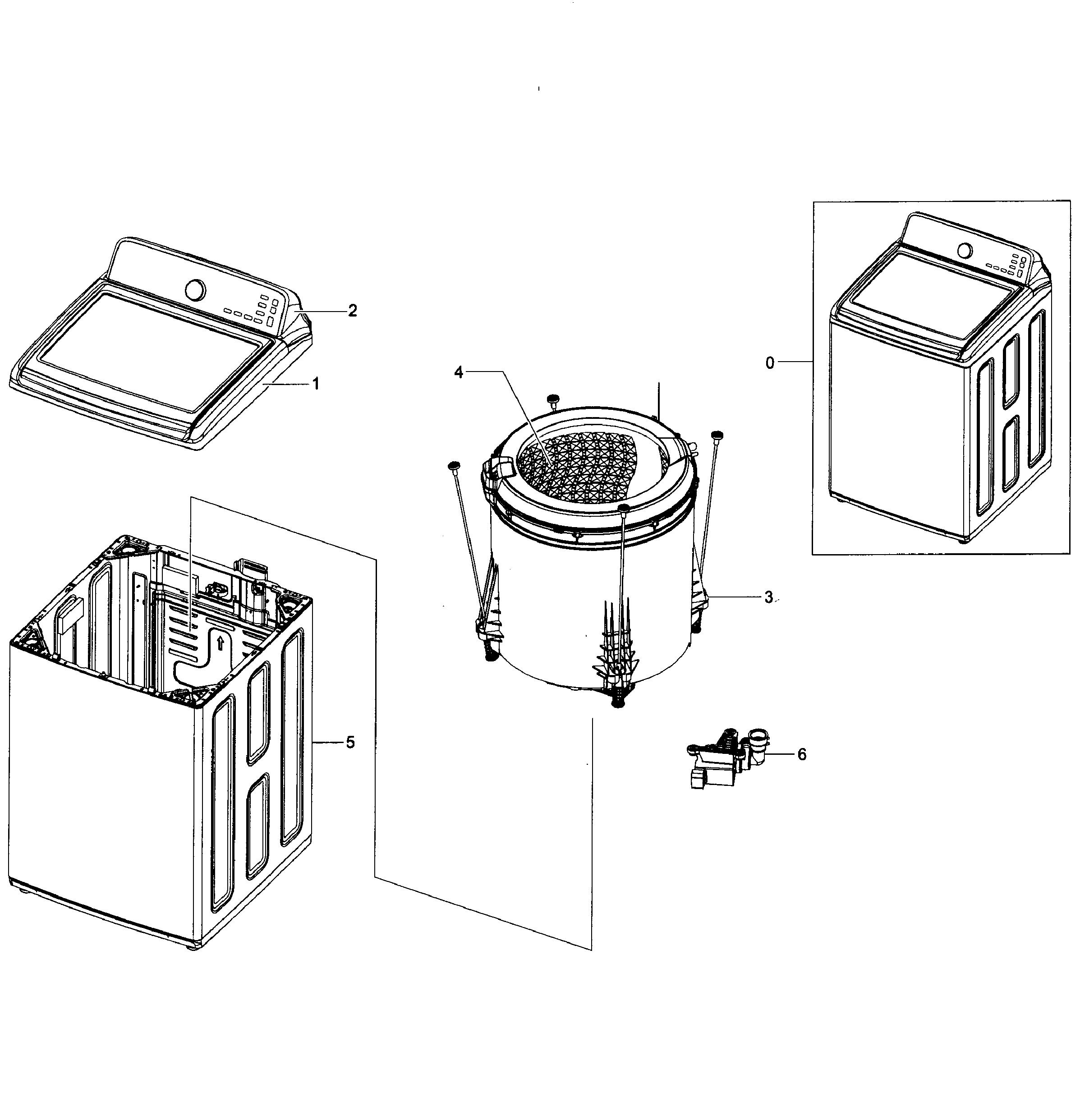 Samsung Diamond Drum Washing Machine Wiring Diagram