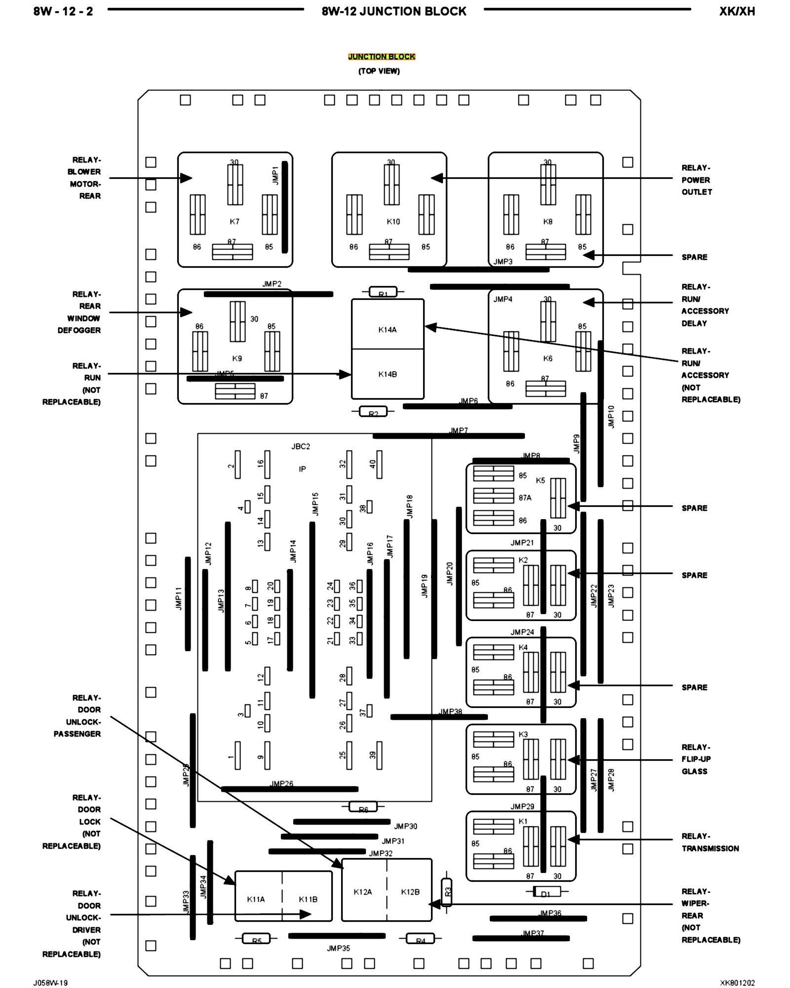 [AL_6496] 2010 Jeep Commander Fuse Box Wiring Diagram