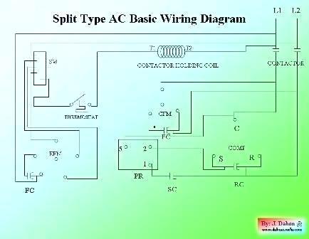 so9177 split air conditioner wiring diagram air