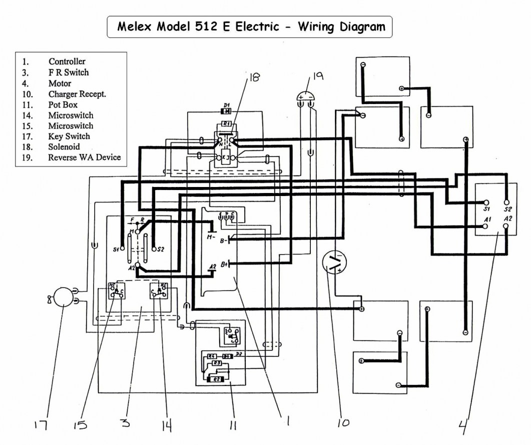 [VC_5804] Harley Golf Cart Reverse Switch Wiring Diagram