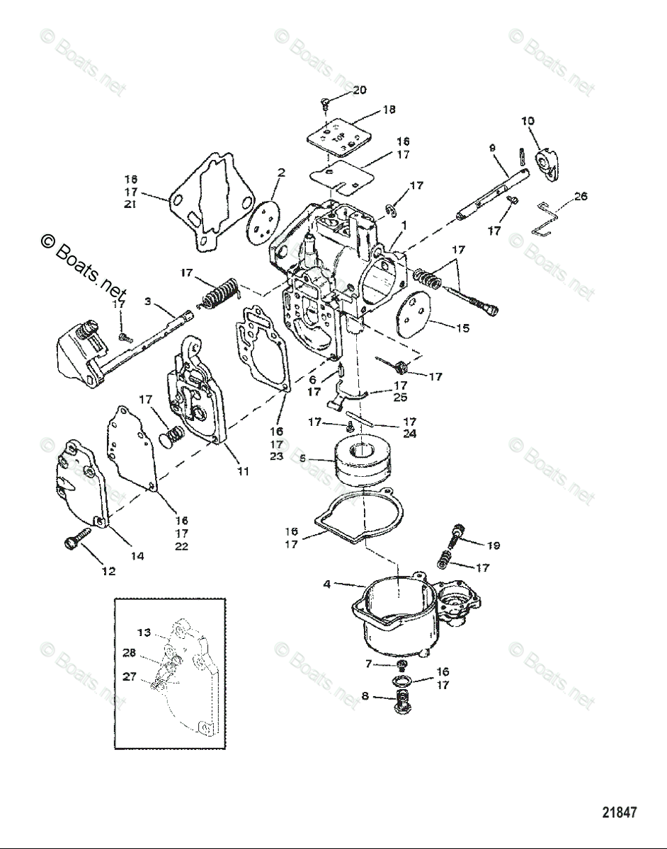 [YD_2438] Wiring Diagram For 25 Hp Mercury Outboard