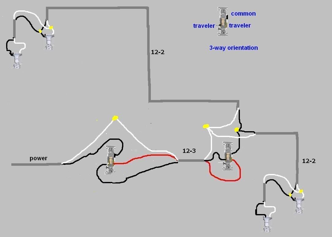 [RX_9510] 3 Way Switch Automation Wiring Diagram