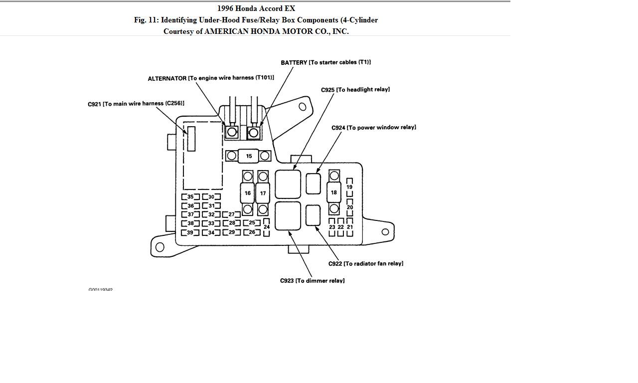 1994 Honda Accord Wiring Diagram For Your Needs