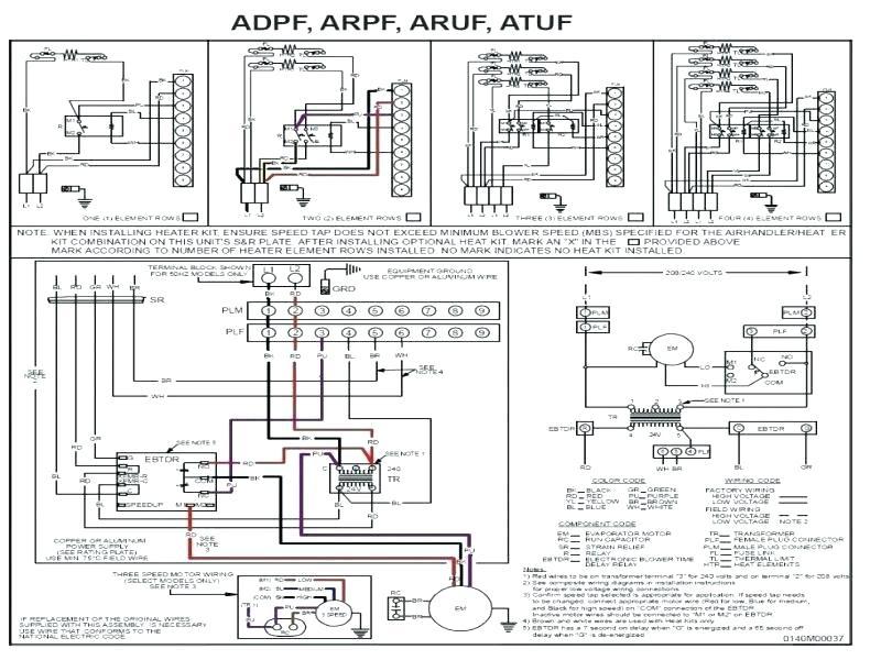 Goodman Wiring Diagram / Goodman Heat Pump Wiring Diagram