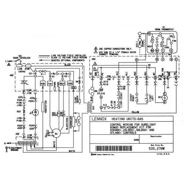 lennox gas furnace wiring schematic  tappan appliances