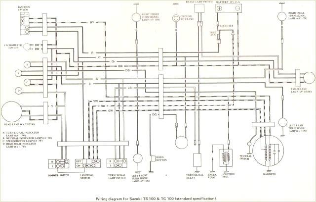 suzuki ts wiring diagram for 185k  wiring diagram operation