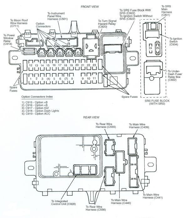 94 Honda Civic Stereo Wiring Diagram : 94 Accord Please