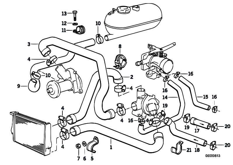 [NB_5877] 1997 Bmw 318I Engine Diagram Bmw E30 Fuel Line