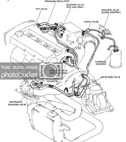 [AF_8088] 2000 Mazda Protege Vacuum Diagram Free Diagram