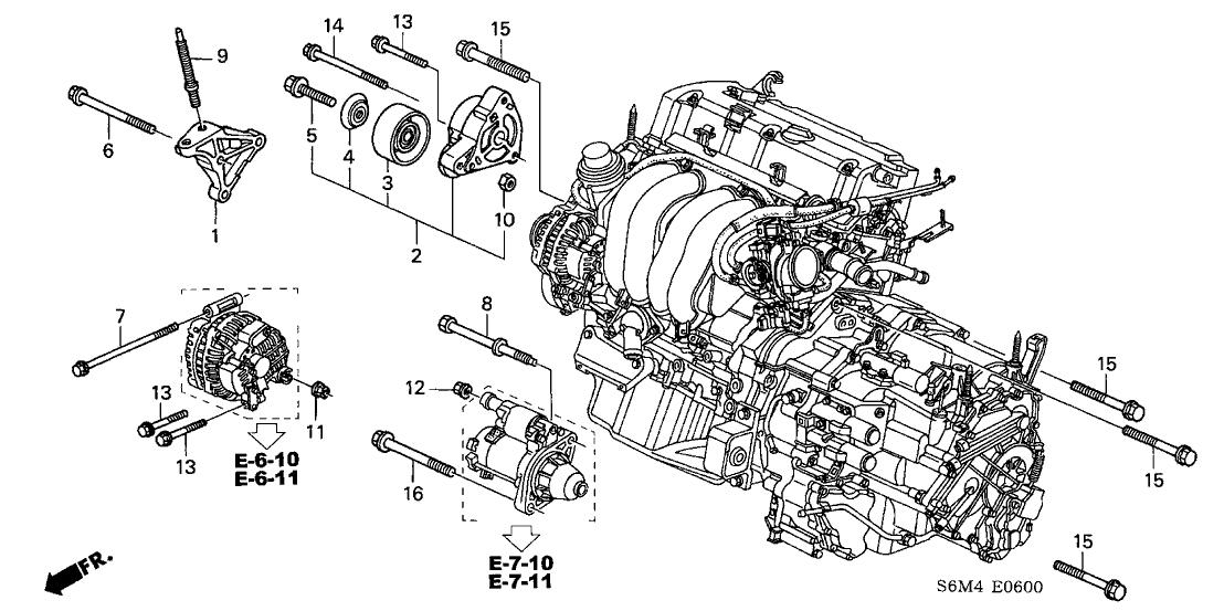 [KG_6239] Acura Engine Parts Diagram Free Diagram