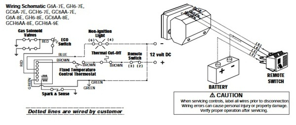 Water Heater Wiring Schematic / Diagram Electric Water