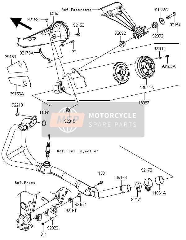 Best View Of Katalog Spare Part Kawasaki Ninja Rr And