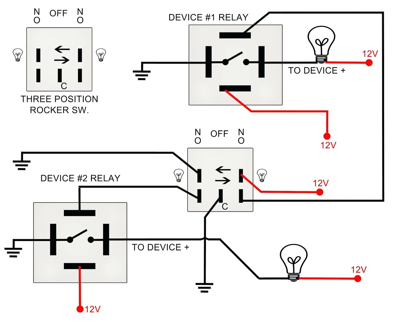 Double Pole Toggle Switch Wiring Diagram Collection