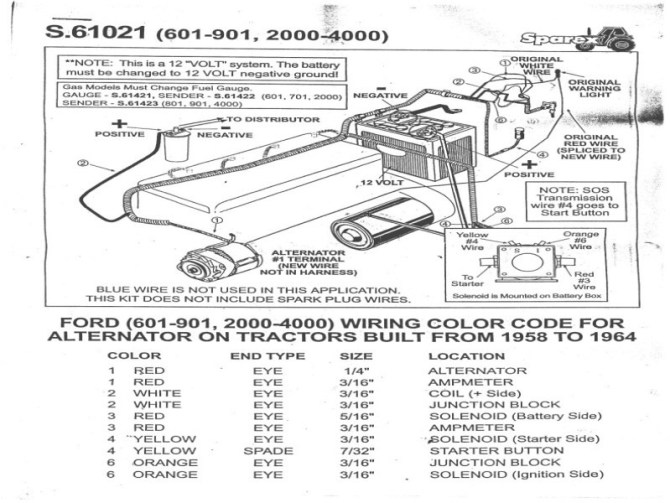 2600 ford tractor wiring diagram  wiring diagram load