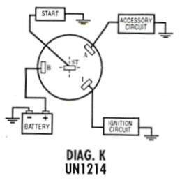 Ignition Starter Switch Wiring Diagram