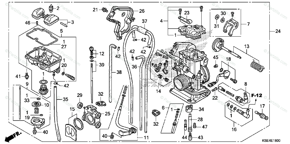 [AN_1143] Honda Crf150F Carburetor Diagram Free Diagram