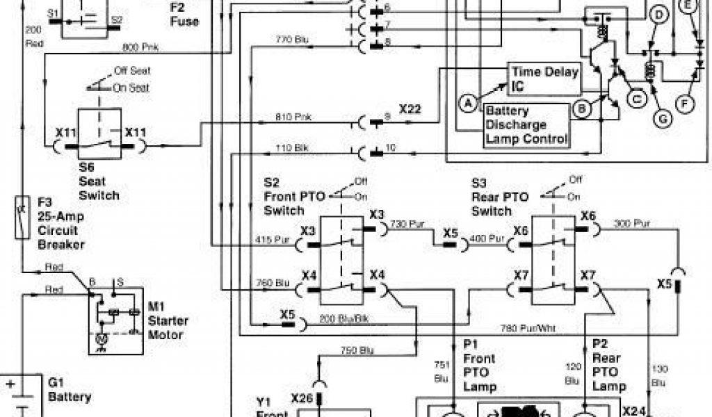 WIRING John Deere Gx75 Wiring Diagram Full Quality