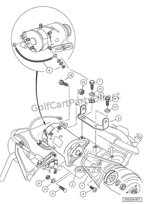 Golf Cart Starter Generator Wiring Diagram Database