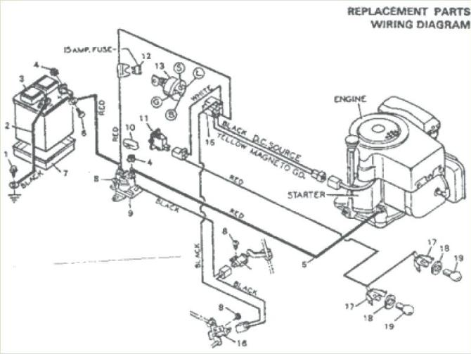 ms7089 mtd wiring diagram riding mower download diagram
