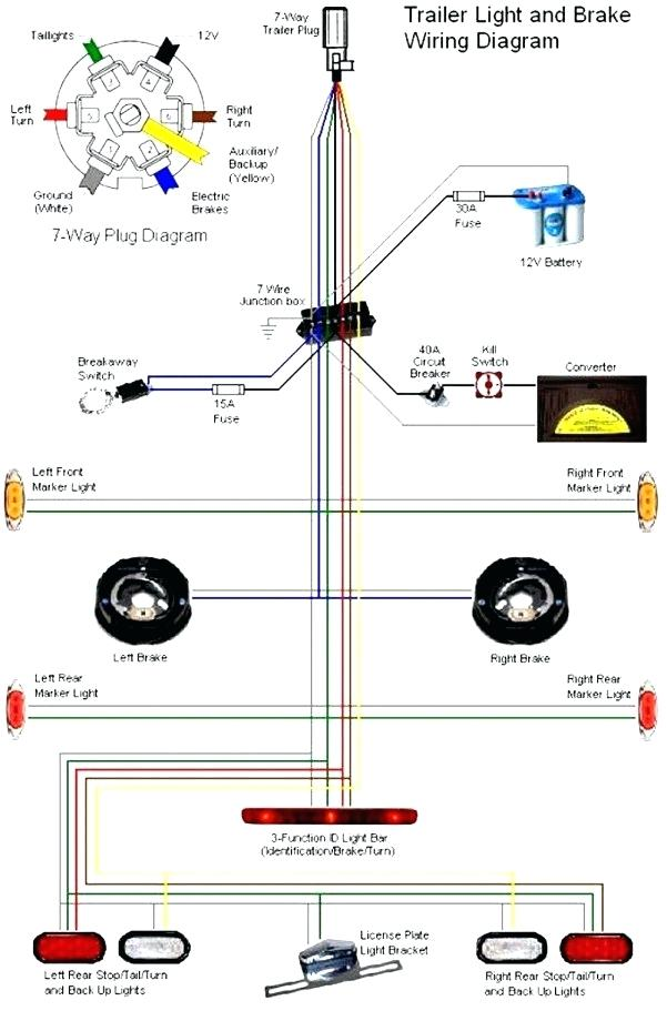 bg5757 wiring diagram as well 7 way flat trailer wiring