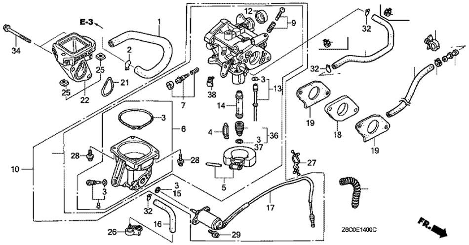 [KV_1881] Honda Gx620 Electric Wiring Schematic Wiring