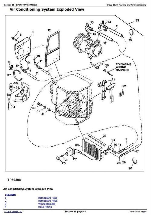 [SG_3257] John Deere X540 Engine Exploded Schematics