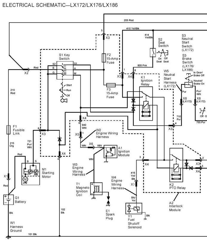 [MC_7599] Wiring Diagram John Deere 140 Free Diagram