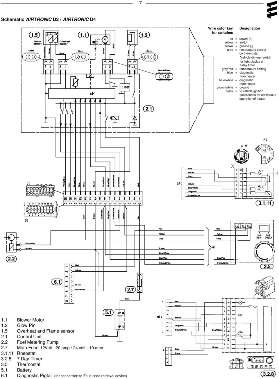 [ZB_5045] Airtronic D2 Wiring Diagram Wiring Diagram