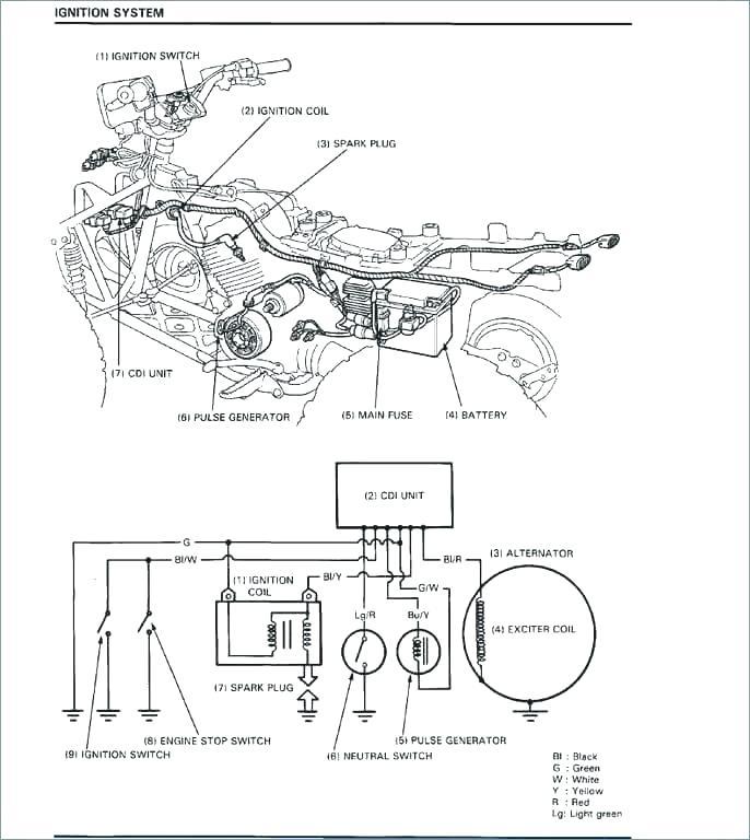 Xt225 Wiring Diagram : 1994 Yamaha Xt225 Wiring Diagram 12