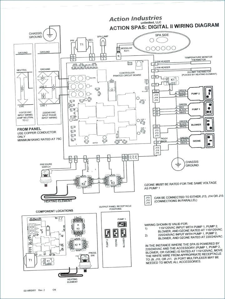 Hot Springs Hot Tub Wiring Diagram Database