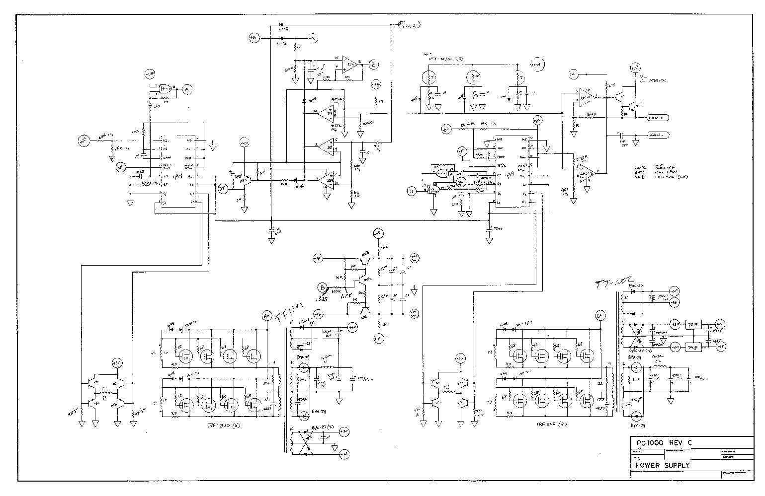 [VR_4451] Amp Rockford Fosgate 650 Mos Fet Wiring Diagram