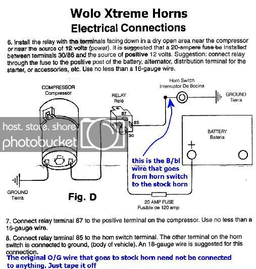 Fiamm Horn Wiring Diagram For Your Needs