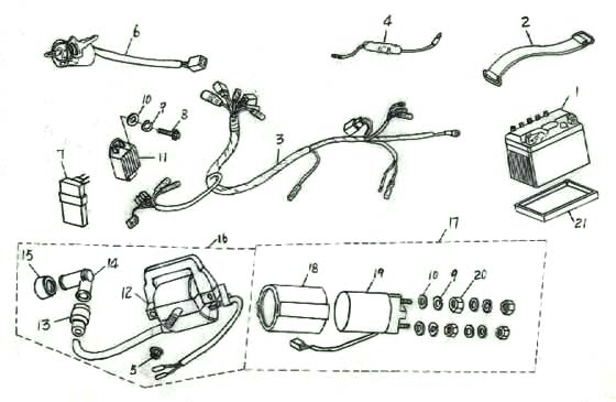 Coolster Atv Wiring Diagram / Coolster Chinese Atv Wiring