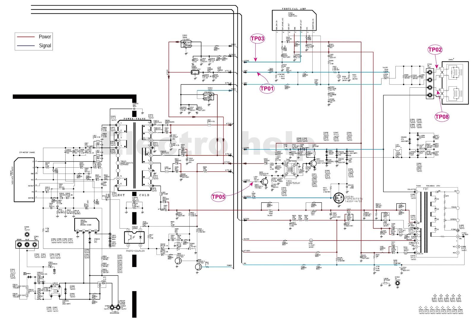 [Get 38+] Schematic Diagram Tv Samsung