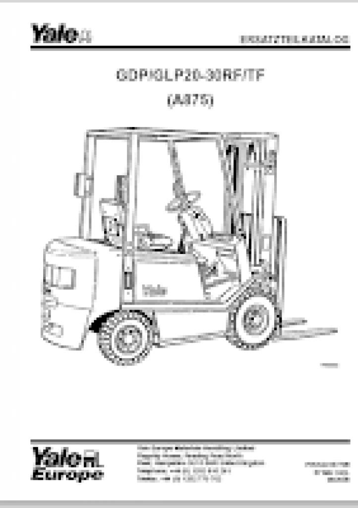 [GR_9556] Fork Lift Parts Catalog Komatsu Forklift Parts