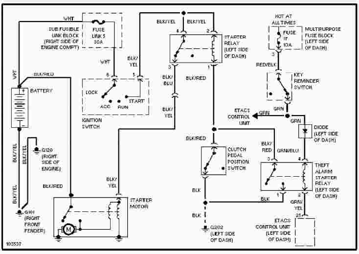 [DIAGRAM] 1998 Mitsubishi Mirage Radio Wiring Diagram FULL