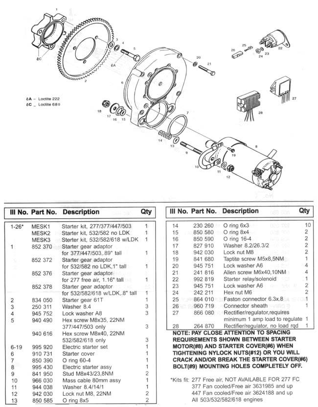 [ZC_8431] Rotax Regulator Rectifier 866 080 Wiring Diagram