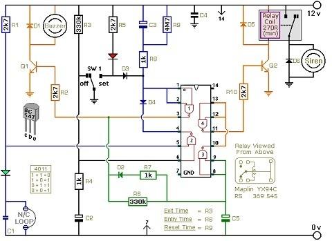 household electrical wiring diagrams  semi air bag