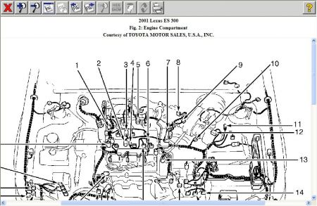 [TT_3604] 2000 Lexus Rx300 Exhaust Diagram Download Diagram