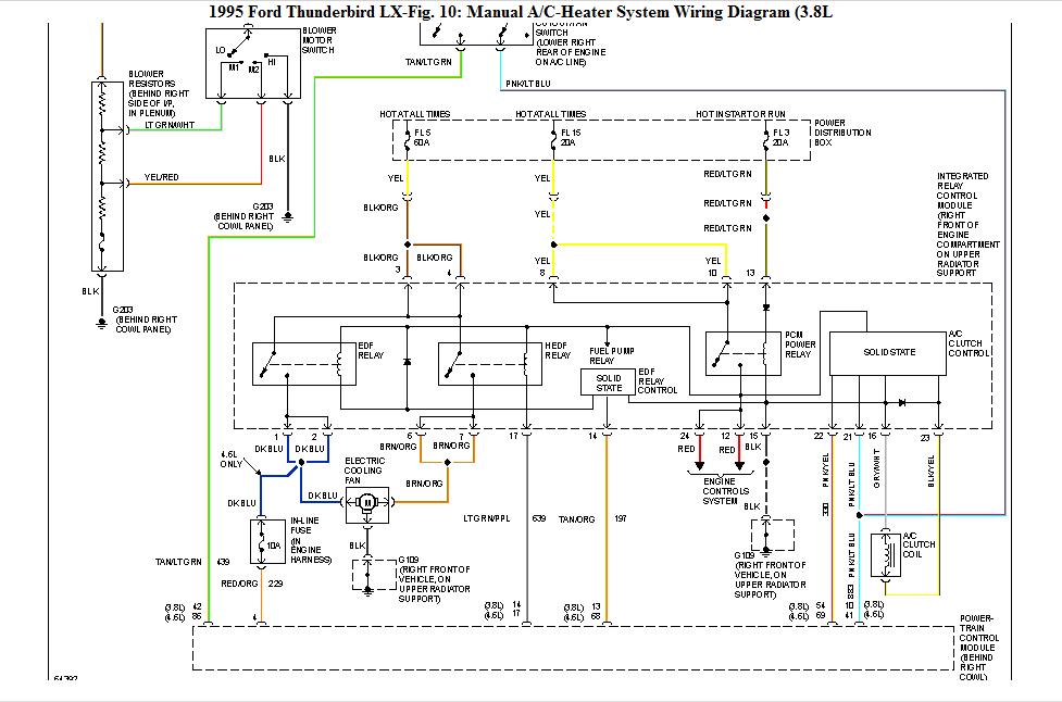 957 Thunderbird Radio Wiring Diagram / 13 Ford Ignition