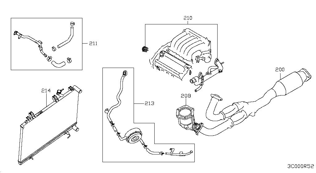 [DB_5635] Nissan Pathfinder Exhaust Diagram Schematic Wiring