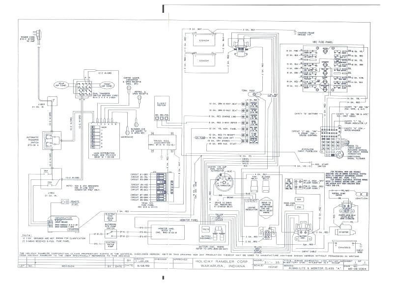 [ES_6078] Thor Motor Coach Wiring Diagram Wiring Diagram