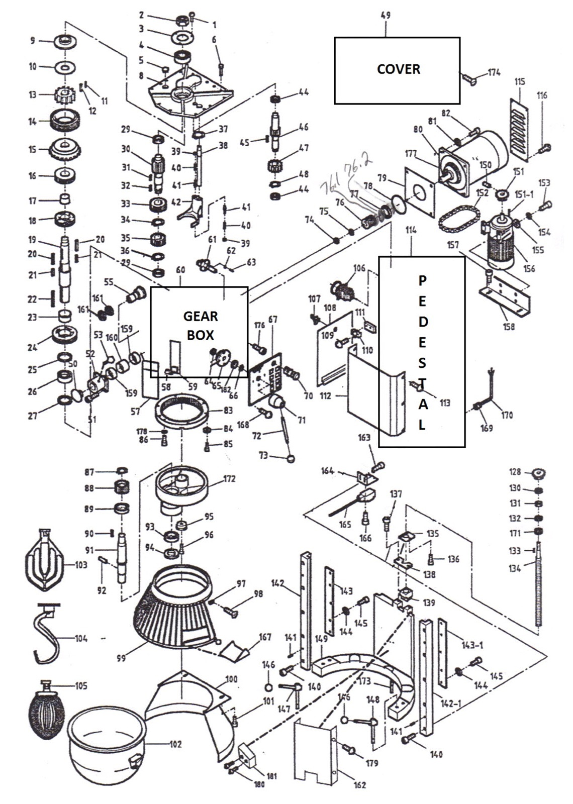[WR_1463] Thunderbird Mixer Wiring Diagram Download Diagram