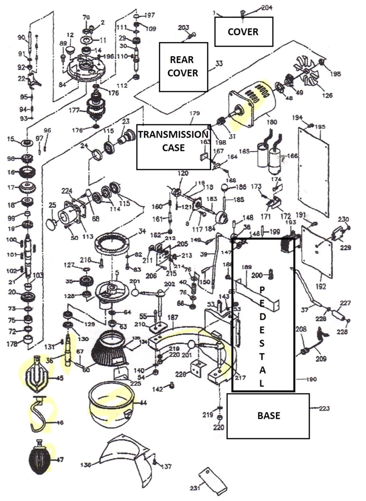 [MD_1595] Thunderbird Mixer Wiring Diagram Free Diagram